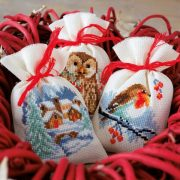 Cross Stitch Sachet Bags (Counted)