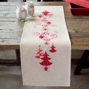 Cross Stitch Tablecloths and Runners (Stamped)
